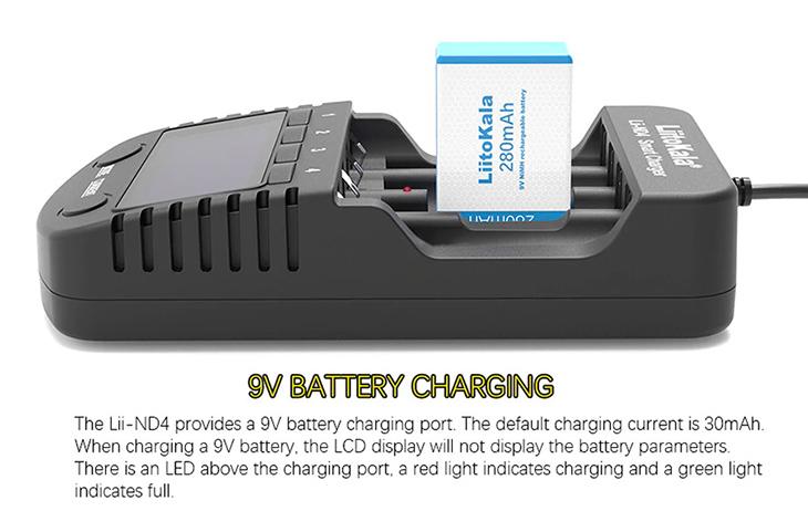 Универсальное зарядное устройство LiitoKala Lii-ND4