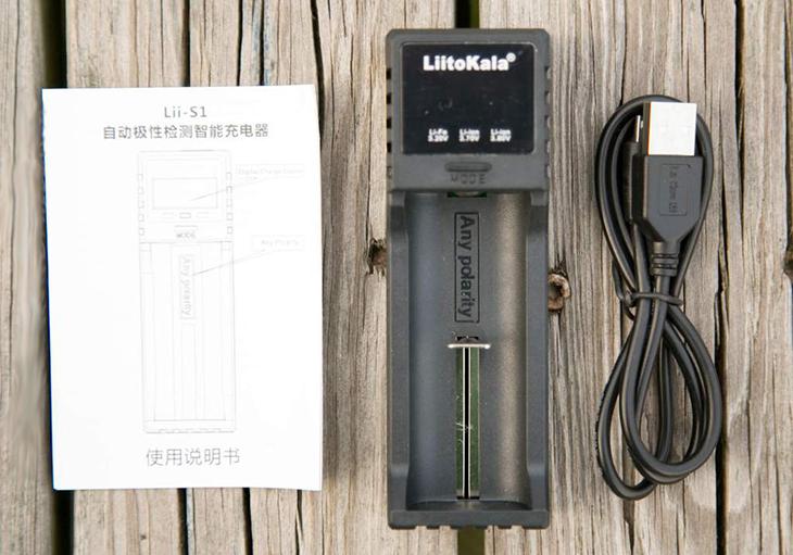 Универсальное зарядное устройство LiitoKala Lii-S1
