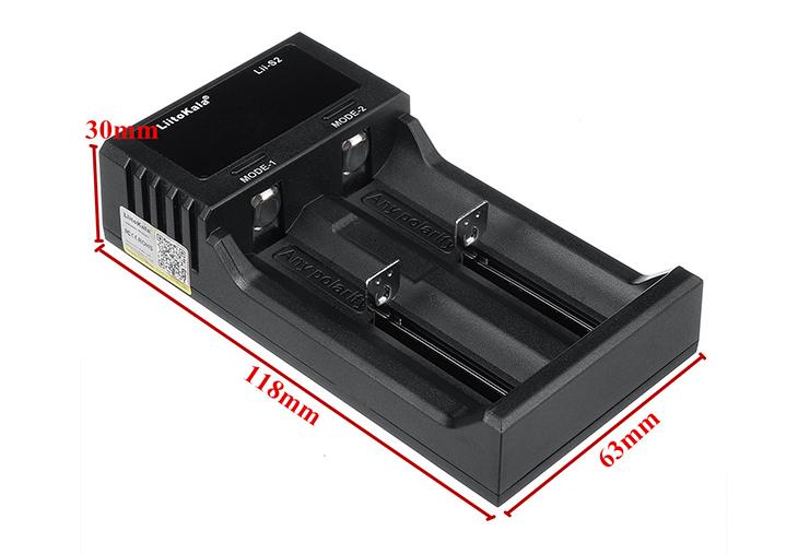 Универсальное зарядное устройство LiitoKala Lii-S2