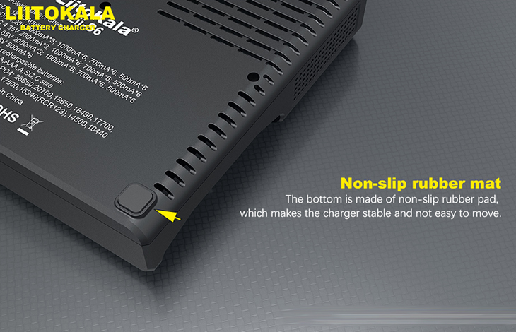 Универсальное зарядное устройство LiitoKala Lii-S6