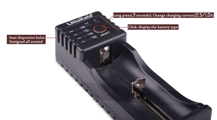 Универсальное зарядное устройство LiitoKala Lii-100