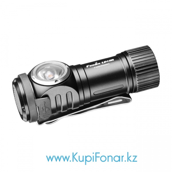 Фонарь Fenix LD15R, CREE XP-G3 + RED EVERLIGHT, 500 лм, 1x16340/1xCR123A, USB, TIR-оптика