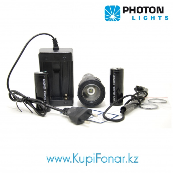 ��������� ������ Photon DVR04, CREE XM-L2 U2, 2x26650, 1000 ��, ������ ��������
