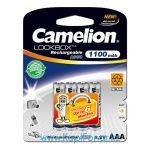 Аккумулятор NiMH Camelion Lockbox ААА/HR03 1100мАч, 4шт в блистере (NH-AAA1100LBP4)