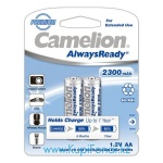 Аккумулятор NiMH Camelion AlwaysReady АА/HR6 2300мАч, 2шт в блистере (NH-AA2300ARBP2)