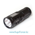 Светодиодный фонарь Imalent SA04 930 лм, 2x CREE XM-L2 (теплый и холодный) + 2x RGB LED, 4xAA, управление тач-дисплеем